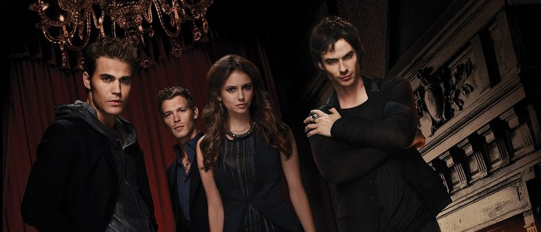 Дневники вампира сколько серий
