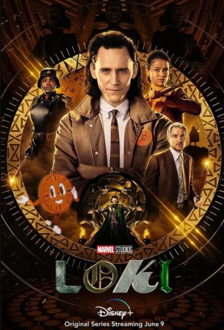 Локи постер